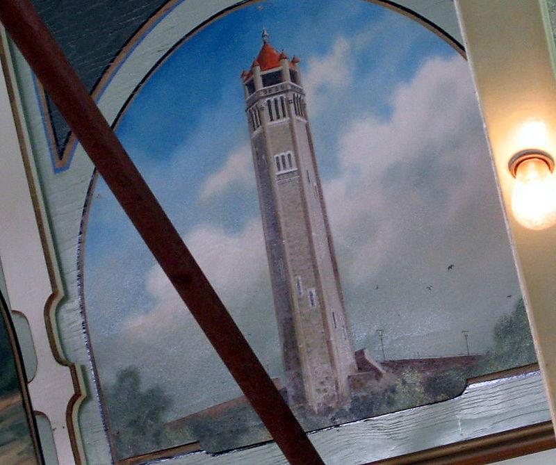 Carousel panel tower
