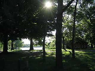 Sun on lake 5-28