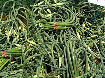 Garlic scapes 6-14