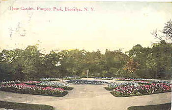 Rose garden 1914