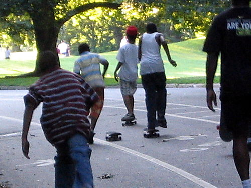 Skateboard action 6-24