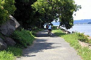 Rockland path return 8-17