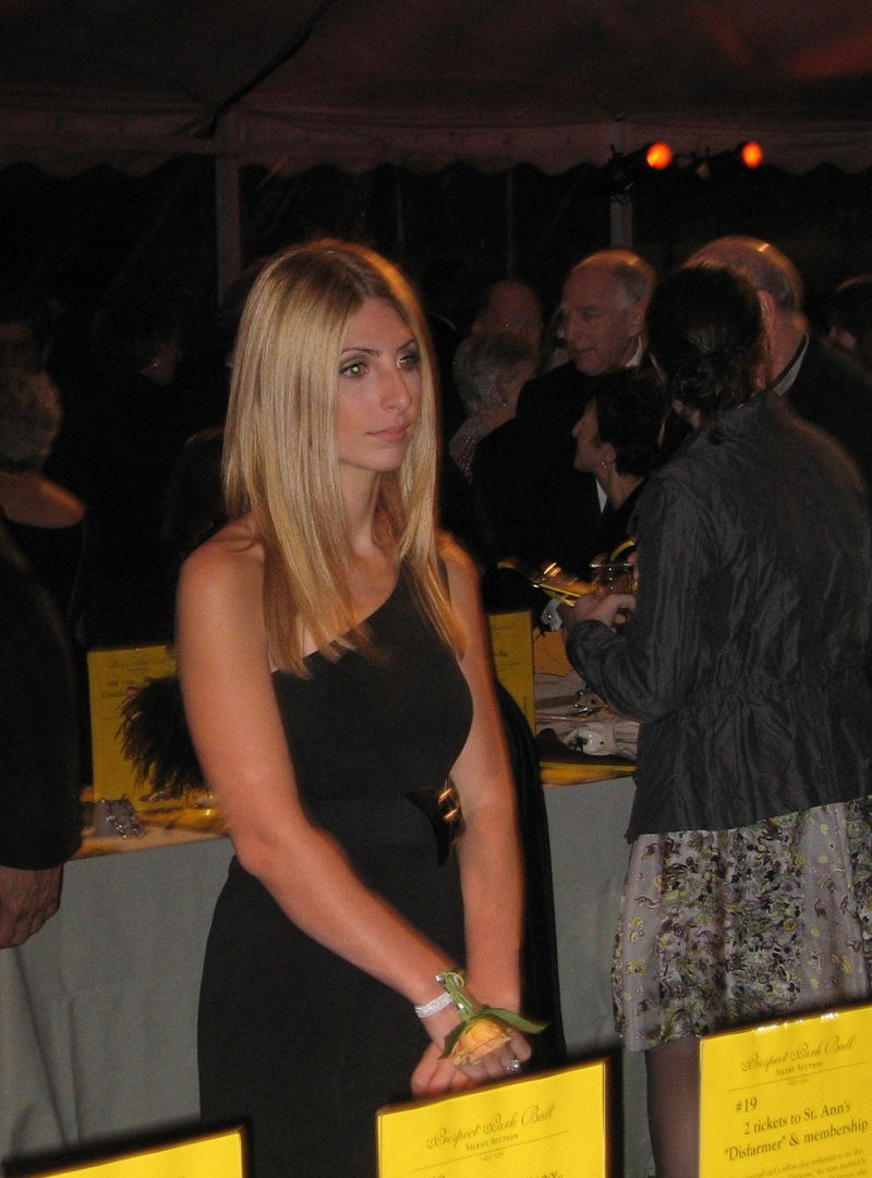 Blonde at the ball 10-18