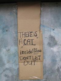 Wellhouse cat sign 10-22
