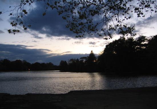 Dusk lake 10-29