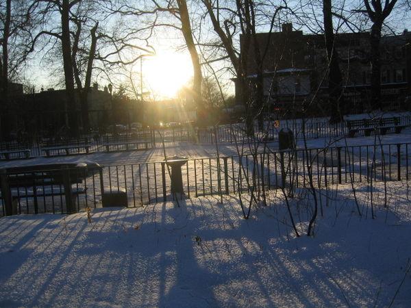 Solstice sunset 12-21