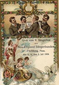 Sangerfest postcard