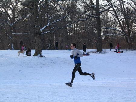 Snow jogger 1-20