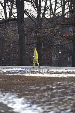 Jogging banana tom martinez