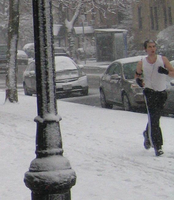 Snow jogger 2-03