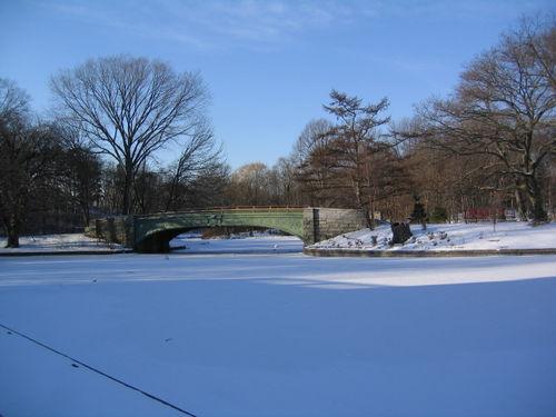 Frozen Lullwater Bridge 2-05