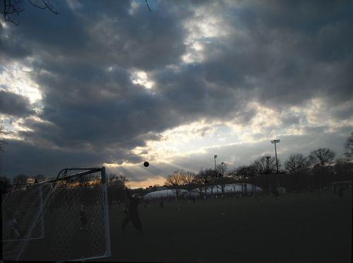 Soccer sky 3-22