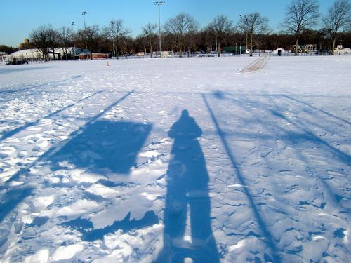 Parade ground winter shadow 12-22