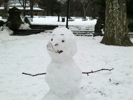 Concert grove snowman
