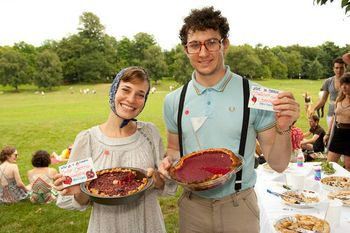 Pie in the park