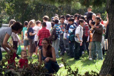 Kids under trees 9-29