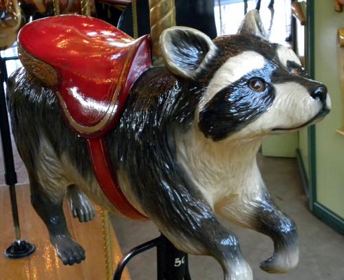 Carousel raccoon