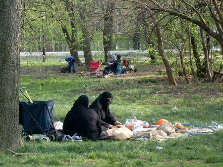 Muslim picnic
