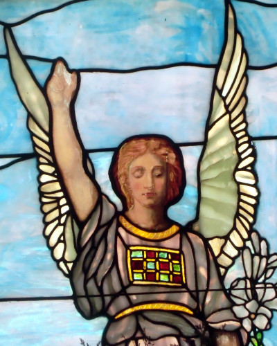 Salem fields stainedglass