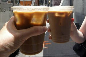 Truck iced coffee 7-2-11