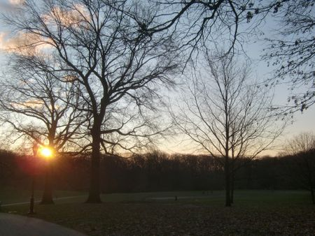 Longmeadow sunrise 1-3-12
