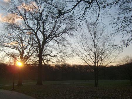 Longmeadow sunrise 1-3-12