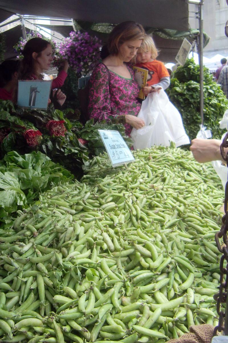 Mountain of peas 6-9-12