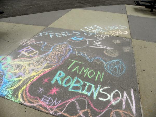 Tamon robinson sidewalk 4-24-12