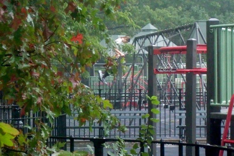 Rain playground 9-28-12