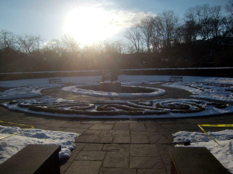 Conservatory winter