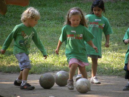 Soccer tots