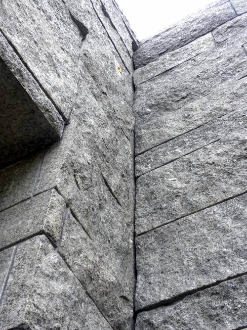 Lakeside granite walls 10-6-12