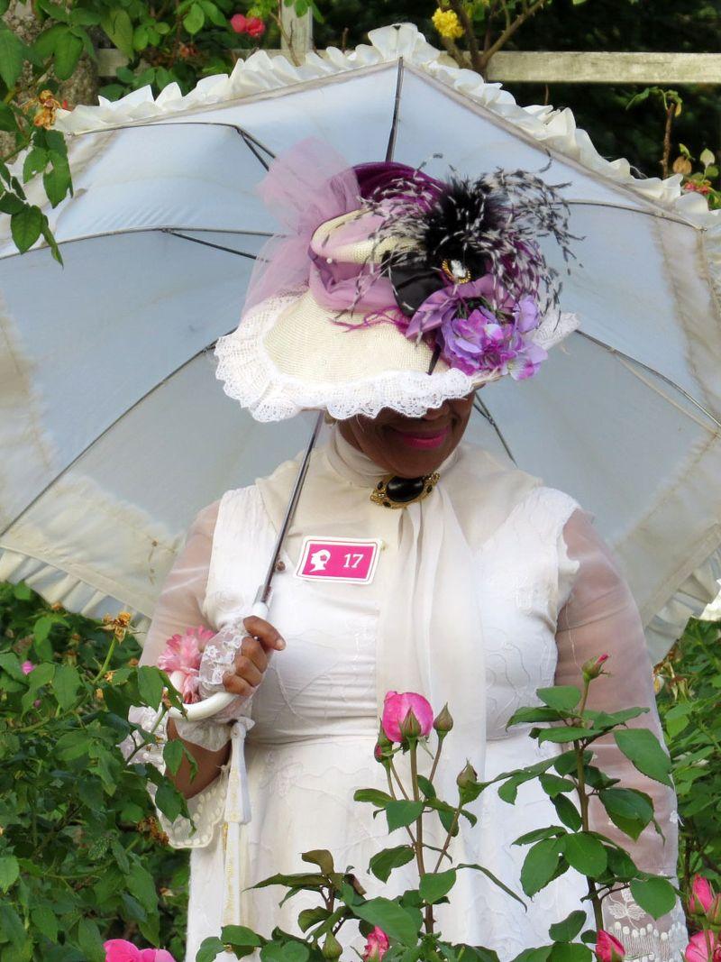 Hat parasol