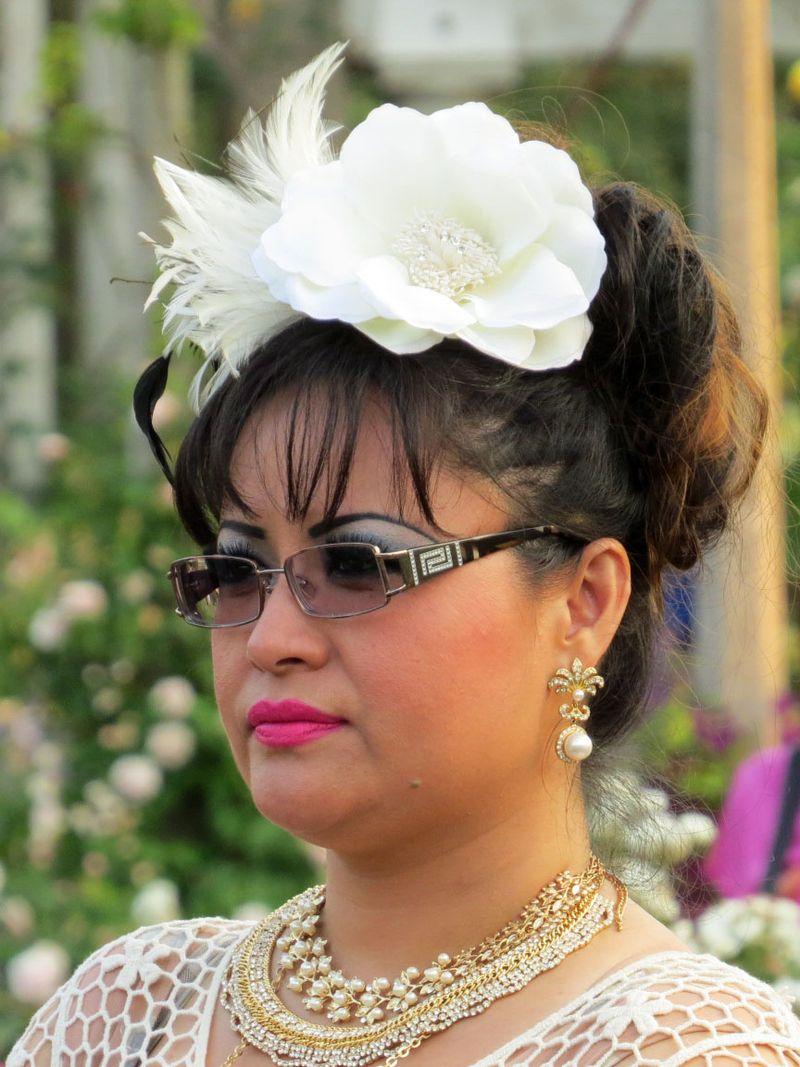 Hats makeup