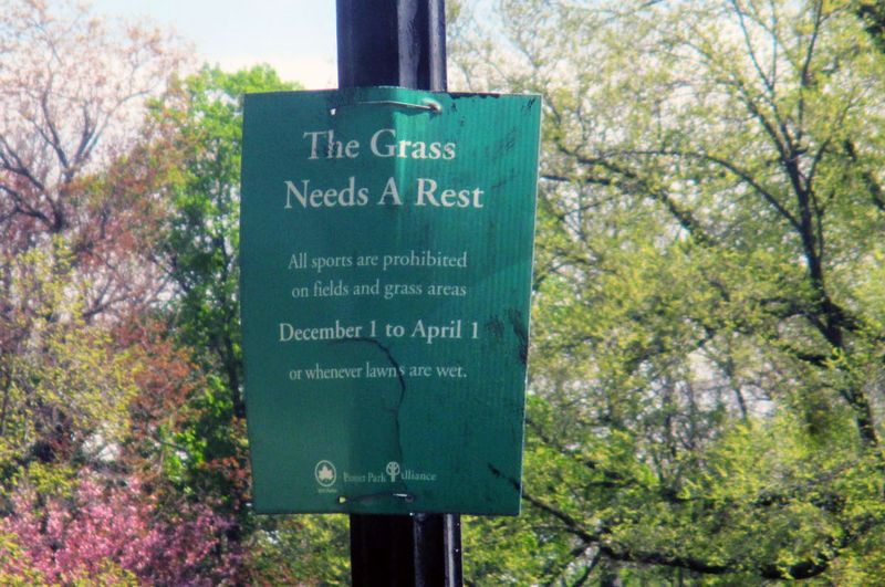 Great Meadow 4-23-16 rest sign
