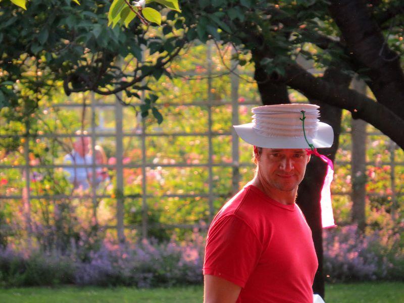 Hat dad