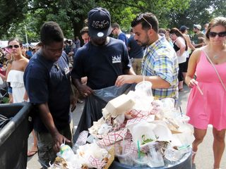 Smorg garbage cleanup 8-30-15